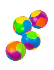 Regalini per pignatta 4 palline multicolore 3 cm