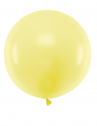 Palloncino in lattice gigante giallo 60 cm