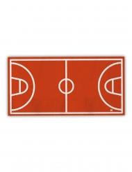 16 tovaglioli di carta campo da basket