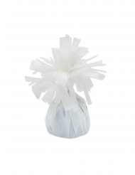 6 pesetti per palloncini bianchi con frange