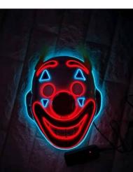 Maschera led da clown per adulto