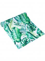 Runner da tavola foglie tropicali
