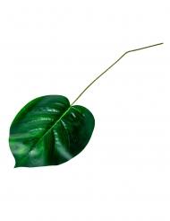 Foglia tropicale con stelo verde