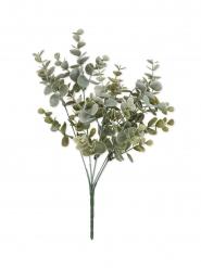 Mazzetto di foglie d'eucalipto verdi plastica 35 cm