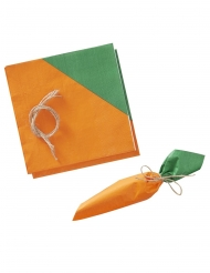 16 tovaglioli di carta carota