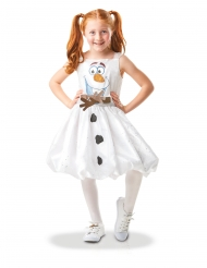 Costume Olaf Frozen 2™ deluxe per bambina