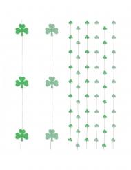 6 decorazioni da appendere con trifogli