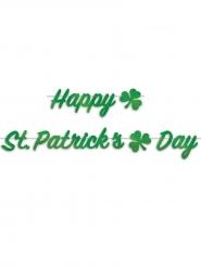 Ghirlanda Happy St Patrick's Day verde 2 m