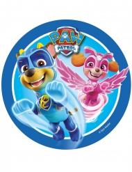 Disco di zucchero blu Paw Patrol™ 21 cm