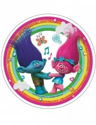 Disco di ostia arcobaleno Trolls™