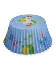 50 pirottini per cupcakes spaziali