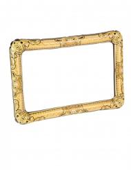 Cornice per foto dorata gonfiabile 80 x 60 cm