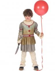 Costume da clown terrificante per bambino