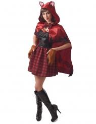 Costume da cappuccetto mannaro per donna