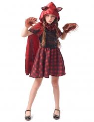 Costume da cappuccetto mannaro per bambina