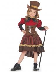 Costume steampunk deluxe per bambina