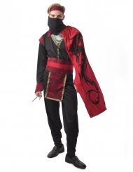 Costume yakuza rosso uomo