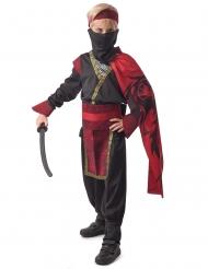 Costume rosso yakuza per bambino