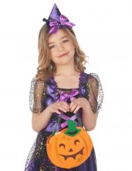 Borsa zucca Halloween bambino