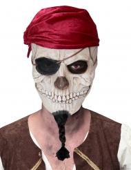 Maschera teschio di pirata adulto