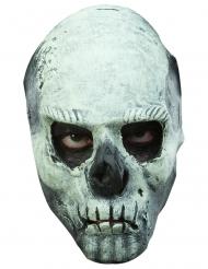 Maschera teschio fosforescente adulto