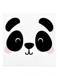 16 tovaglioli di carta piccolo panda