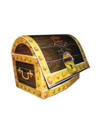 Baule tesoro dei pirati in cartone