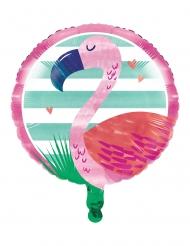 Palloncino alluminio Flamingo Ananas Party