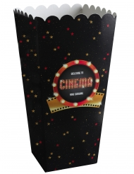 8 scatole per pop corn a tema Hollywood
