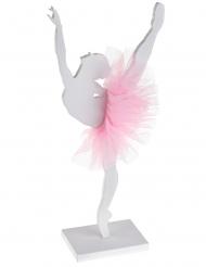 Ballerina in legno con tutù rosa