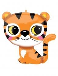 Palloncino in alluminio piccola tigre