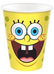 8 bicchieri in cartone Spongebob™