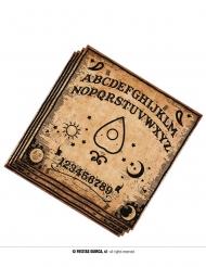 20 Tovaglioli Ouija in carta 33 x 33 cm