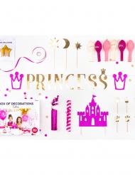 Kit 31 decorazioni per compleanno principessa