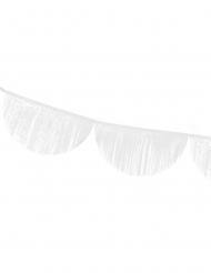Ghirlanda arrotondata con frange bianche