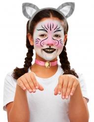 Kit trucco e accessori gatto per bambini