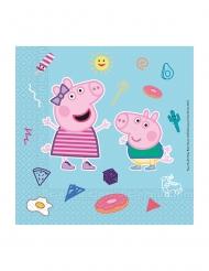20 Tovaglioli in carta compostabile Peppa Pig™