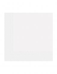 20 tovaglioli in carta compostabile bianca