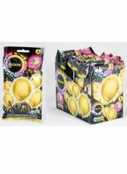 5 palloncini LED oro Illooms®
