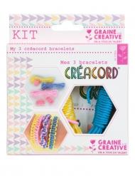 Kit Créacord® bracciali Arcobaleno