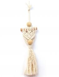 Kit amuleto in macramé bohemien