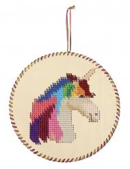Kit sospensione da cucire unicorno