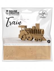 Modellino treno in cartone