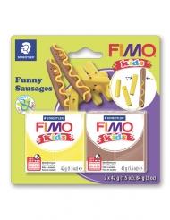 Kit pasta FIMO® salsicce e patatine