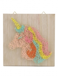 Kit string art unicorno colorato
