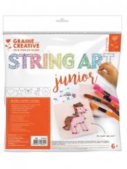 Kit string art a tema naturale
