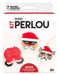Kit perline da stirare Babbo Natale