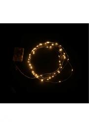 Ghirlanda bianca luminosa 5 m