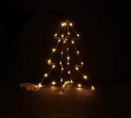 Decorazione luminosa albero 30 cm