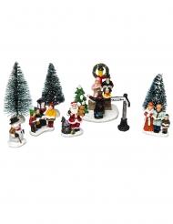 Mini villaggio di Babbo Natale
